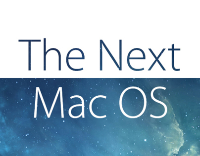 The Next Mac OS