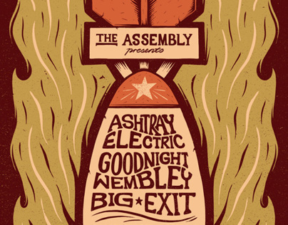 Ashtray Electric Poster