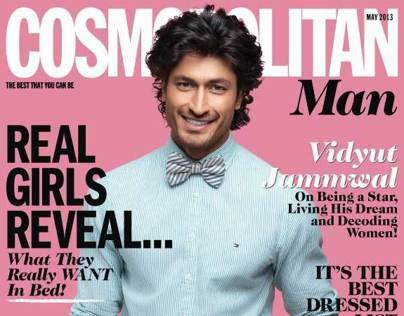 Cosmo Man issue May 2013