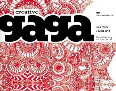 Work Featured in Creative Gaga Magazine: July/ Aug 2013