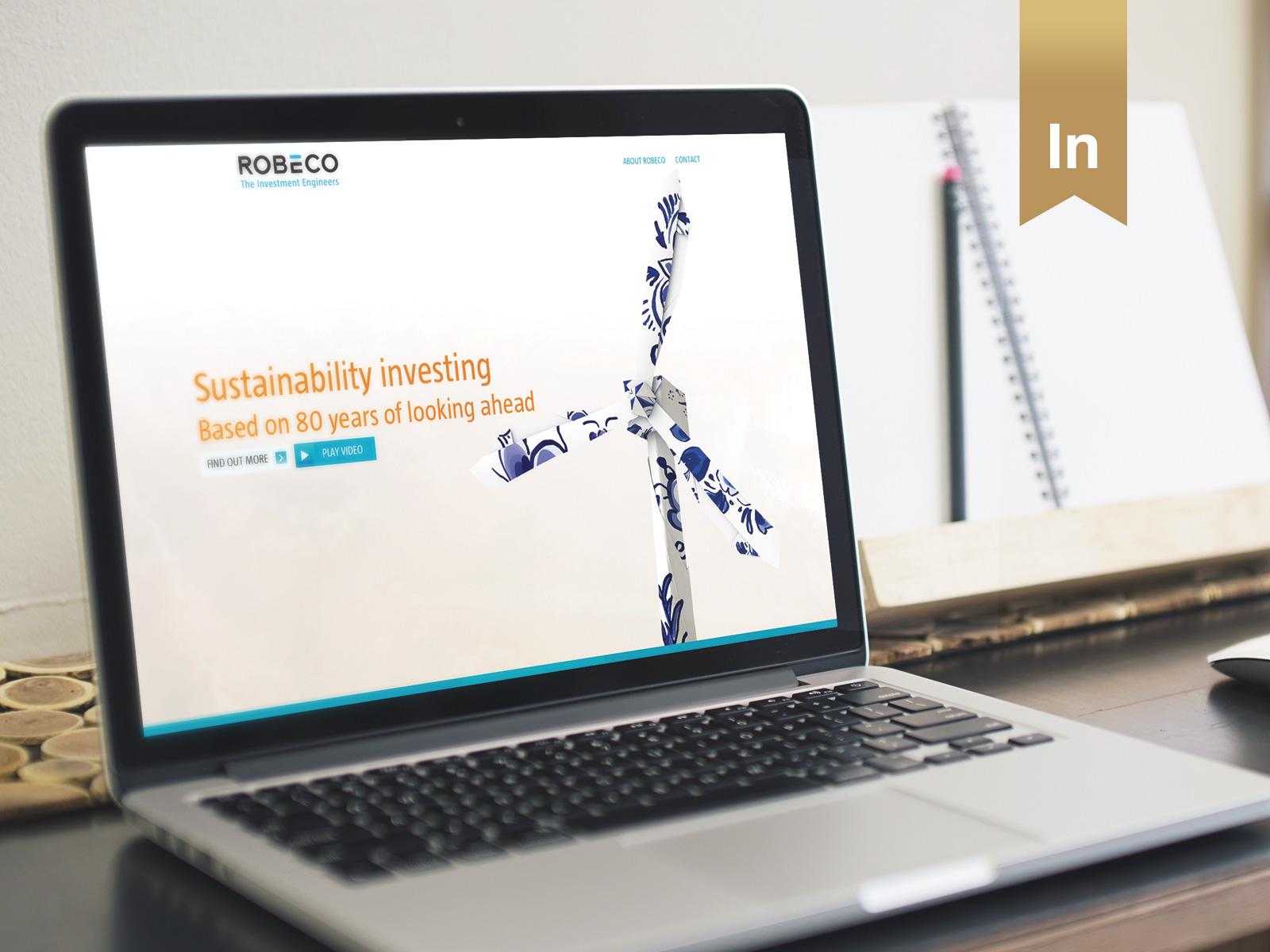 Robeco Asia - Responsive website