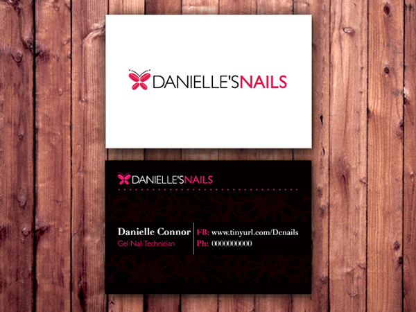 Business Cards and Logo for Nail Technician