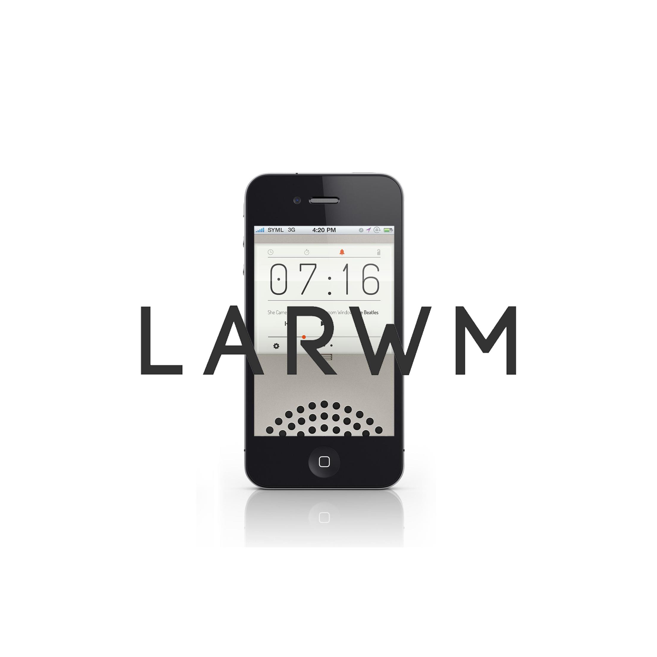 LARWM IOS Application