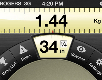 Fish Weight, iPhone App