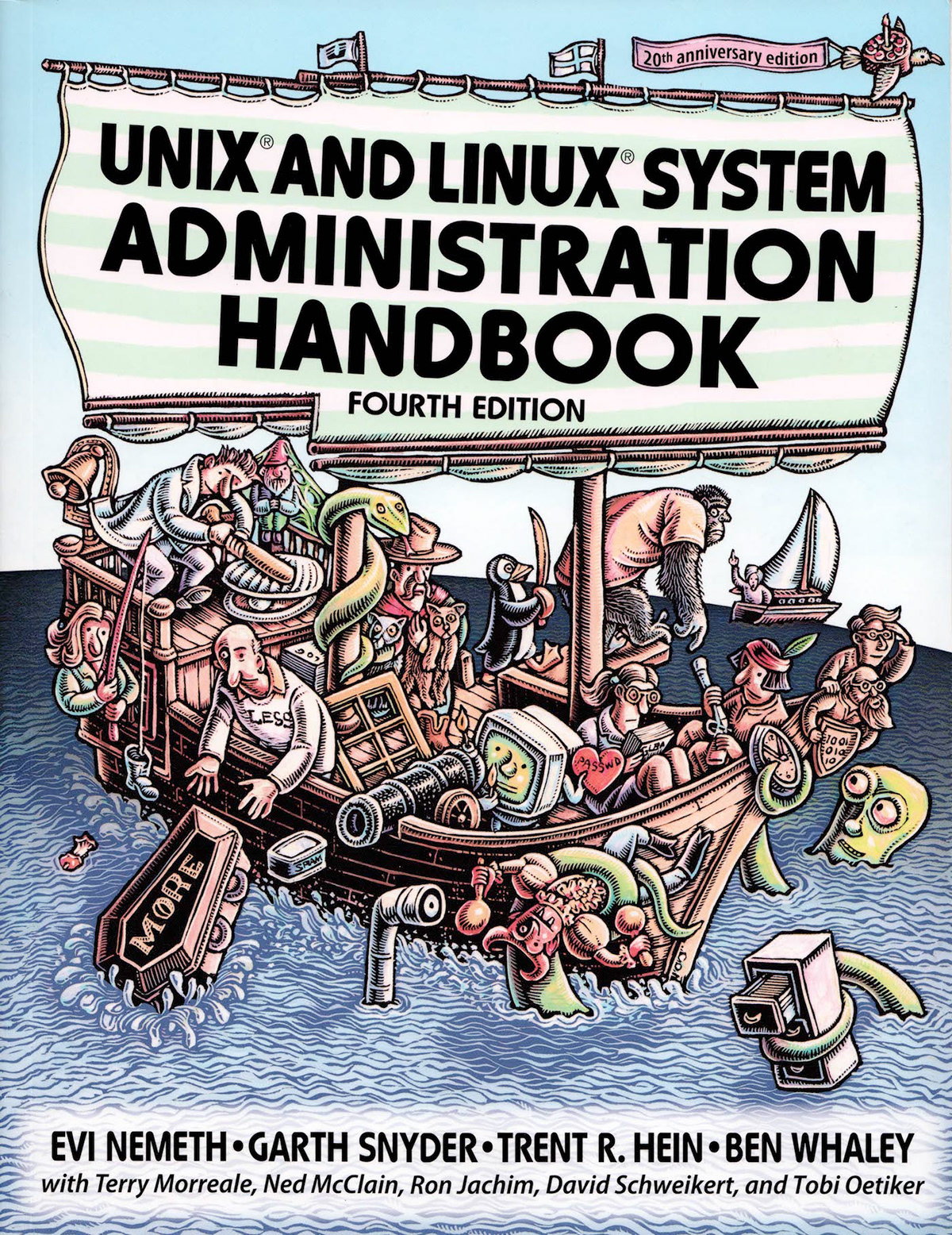 Book: UNIX and Linux System Administration Handbook