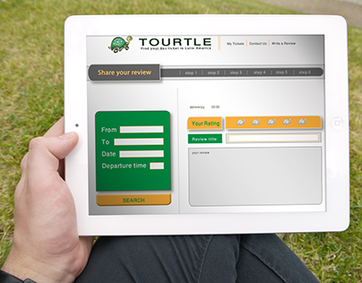 Tourtle- Bus tickets purchase website