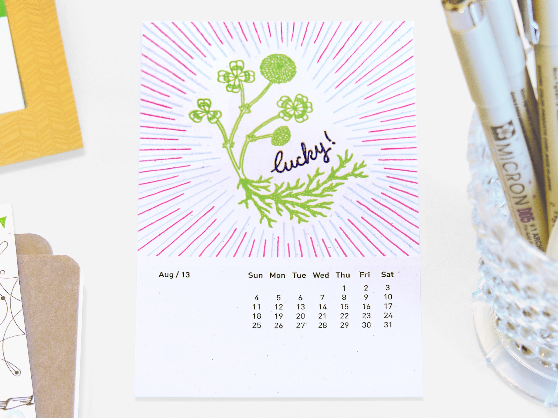 Lucky Number 13 Calendar