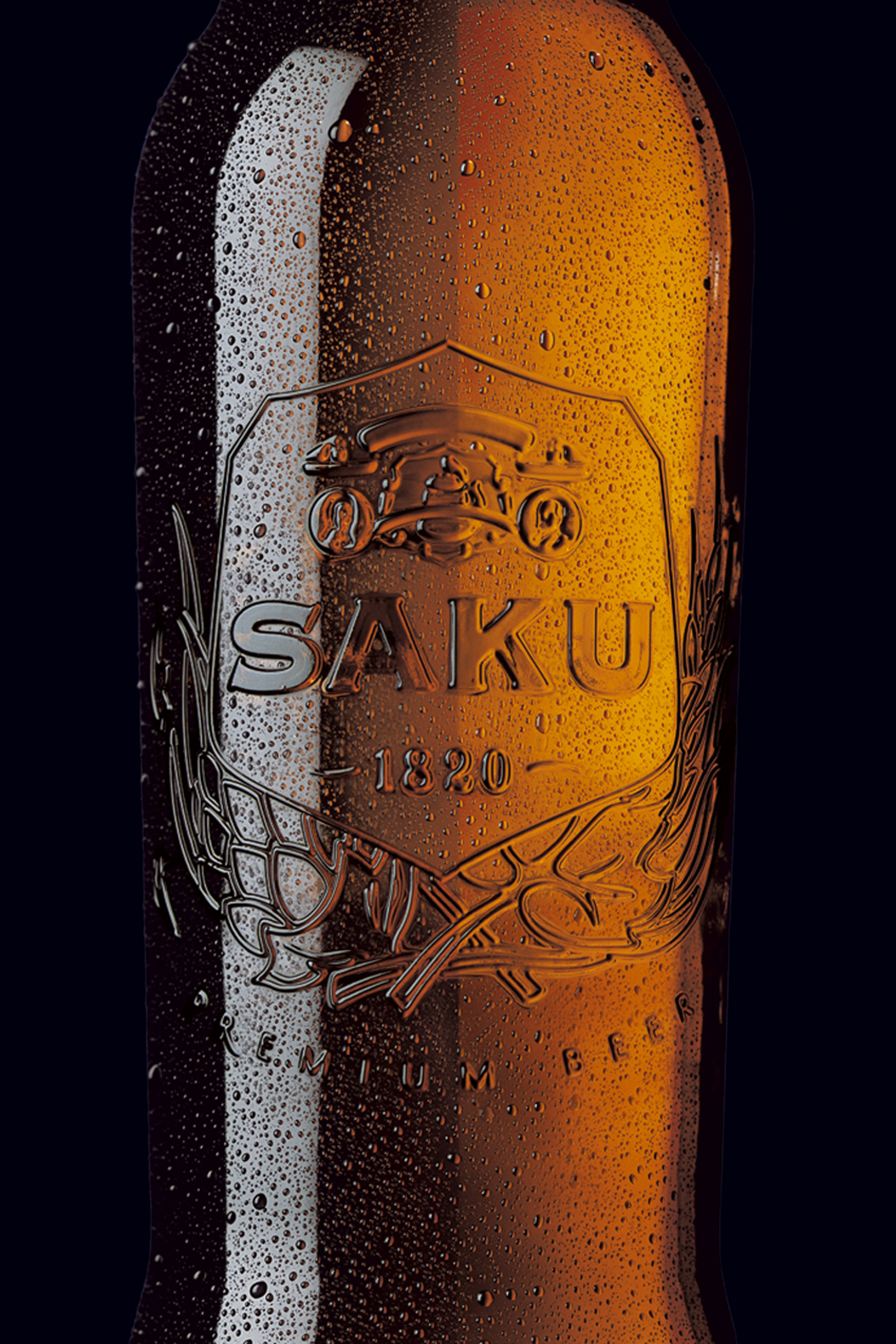 packaging / saku beer