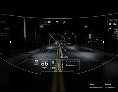 Helmet UI