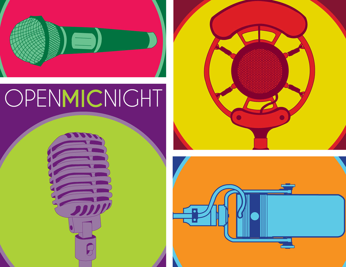 Open Mic Night Posters