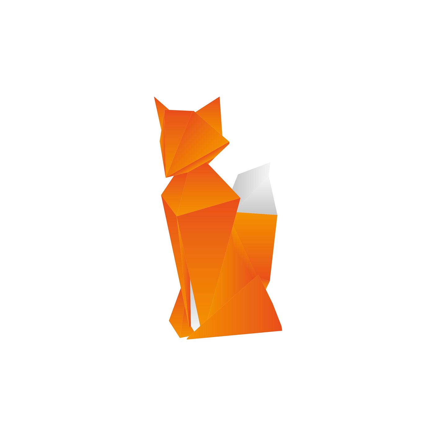 Origami Illustrations