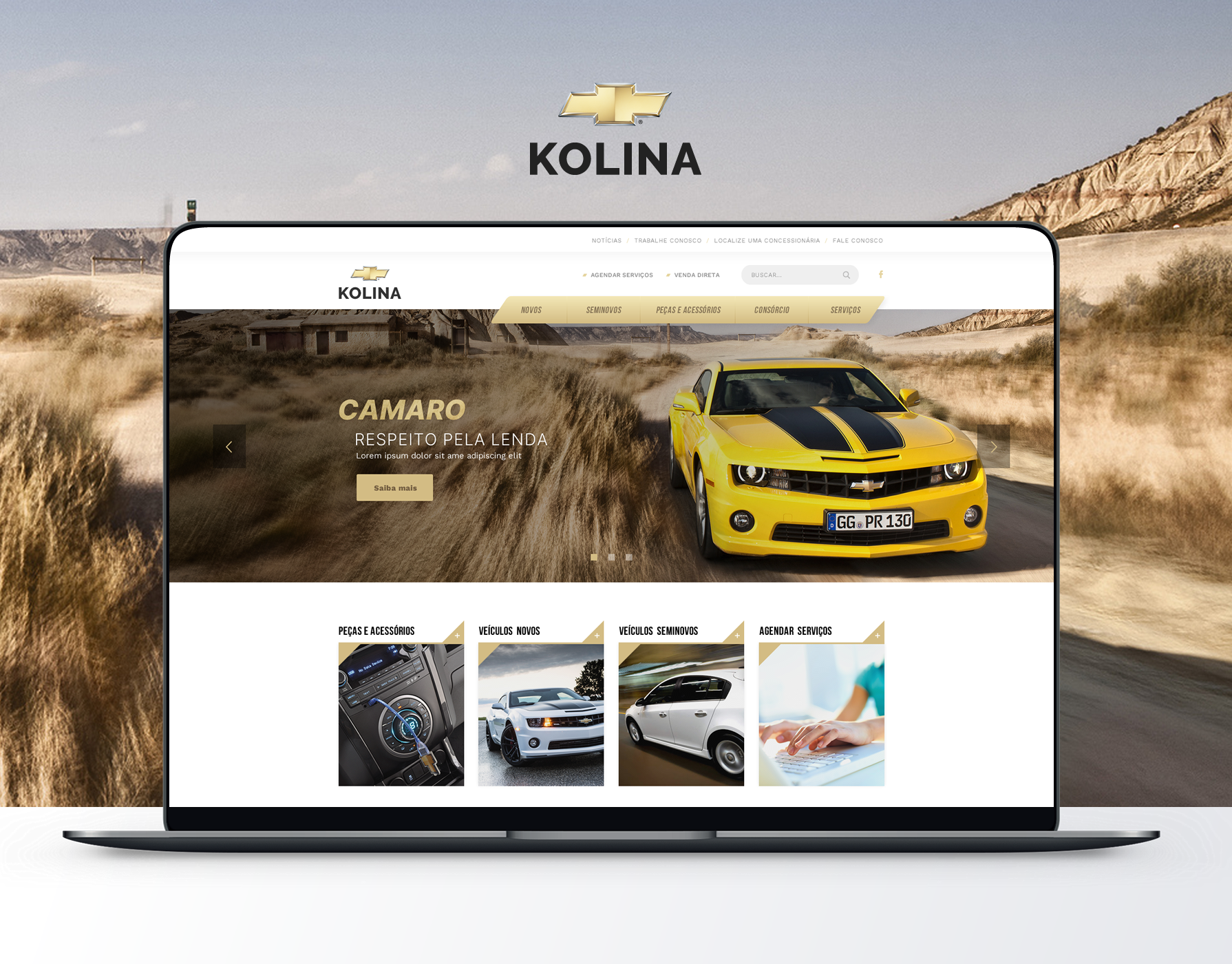 Kolina Chevrolet - Website