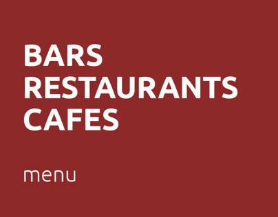 Bar - Restaurant - Cafe