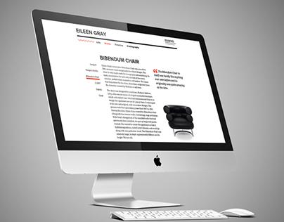Eileen Gray Website