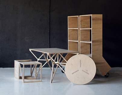 Furniture P01 - Plywood