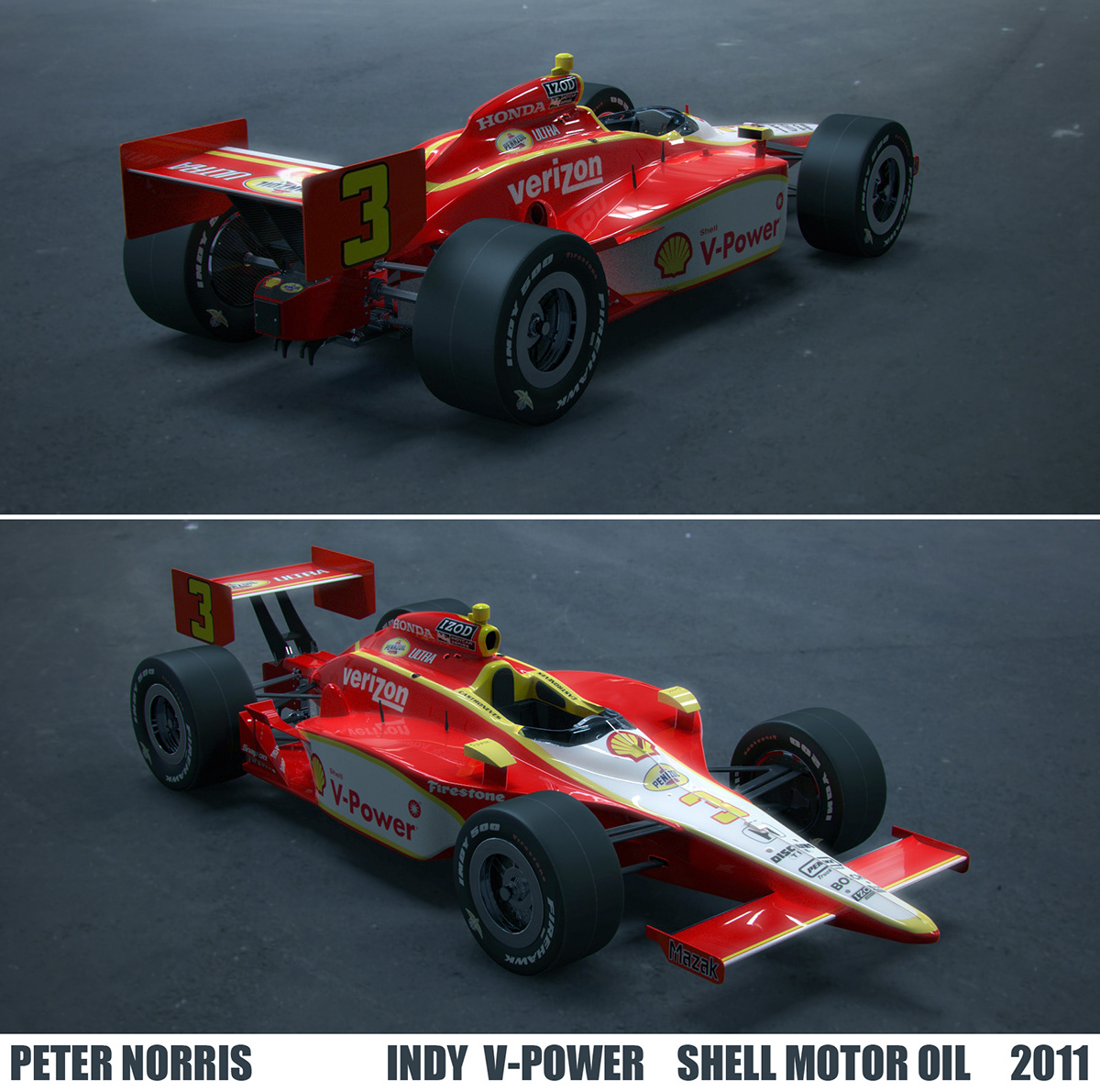 2011 Shell V Power Indy Car