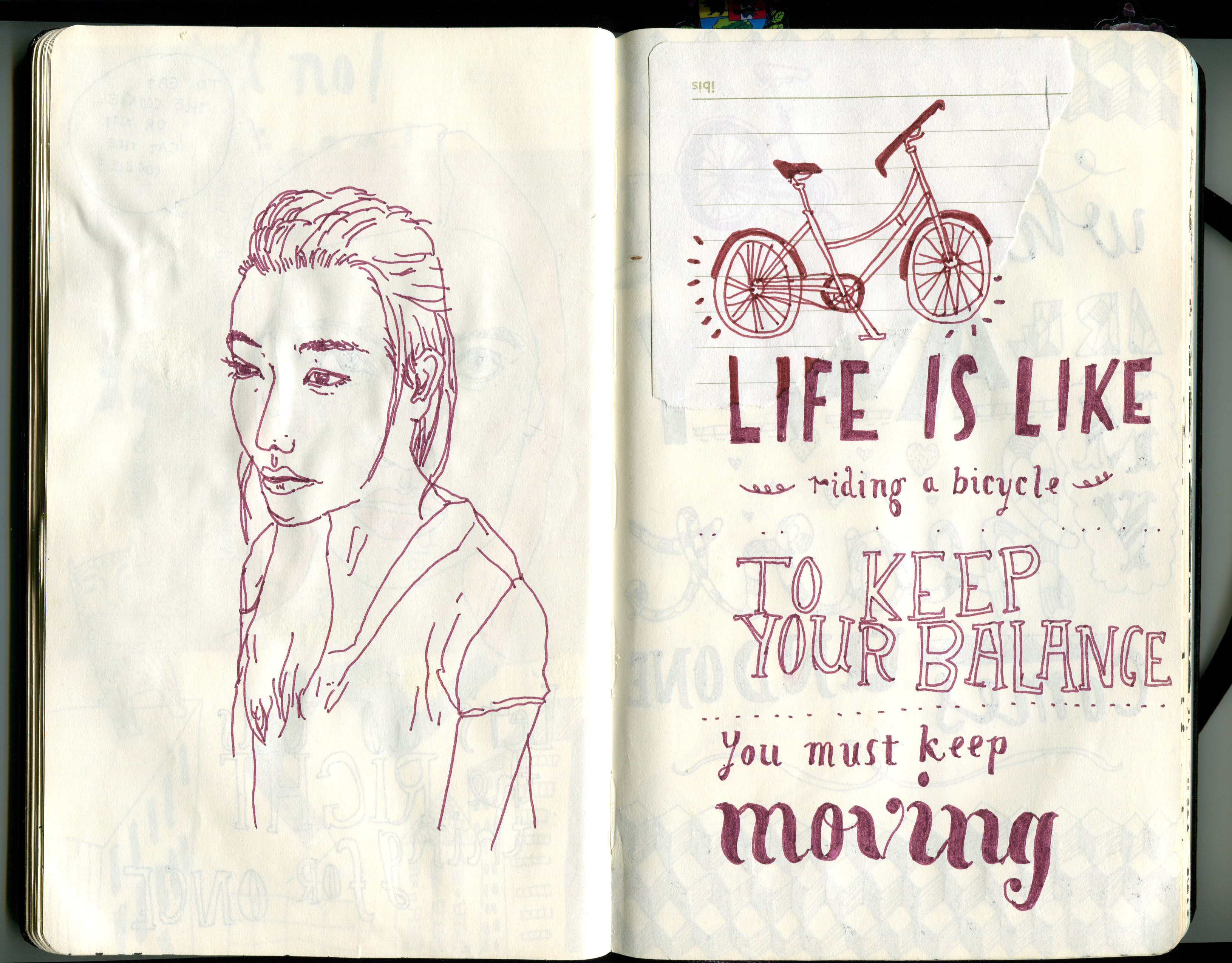Molskine journal 2012