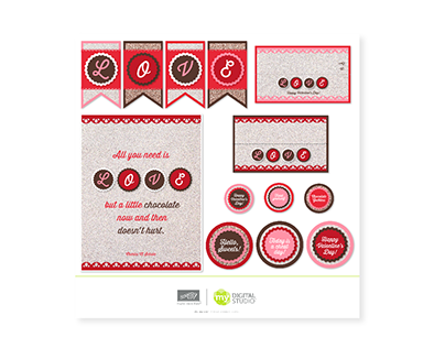 Valentine Love Digital Kit