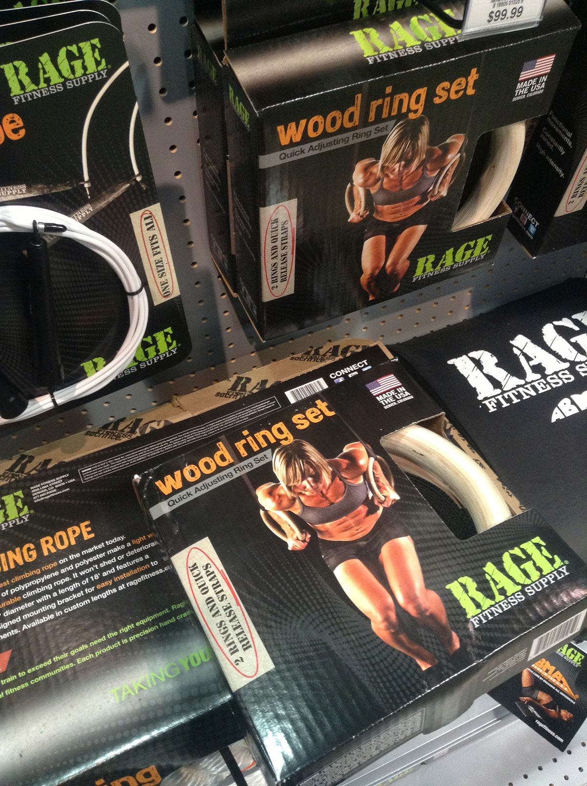 Rage Fitness Supply: Packaging Design