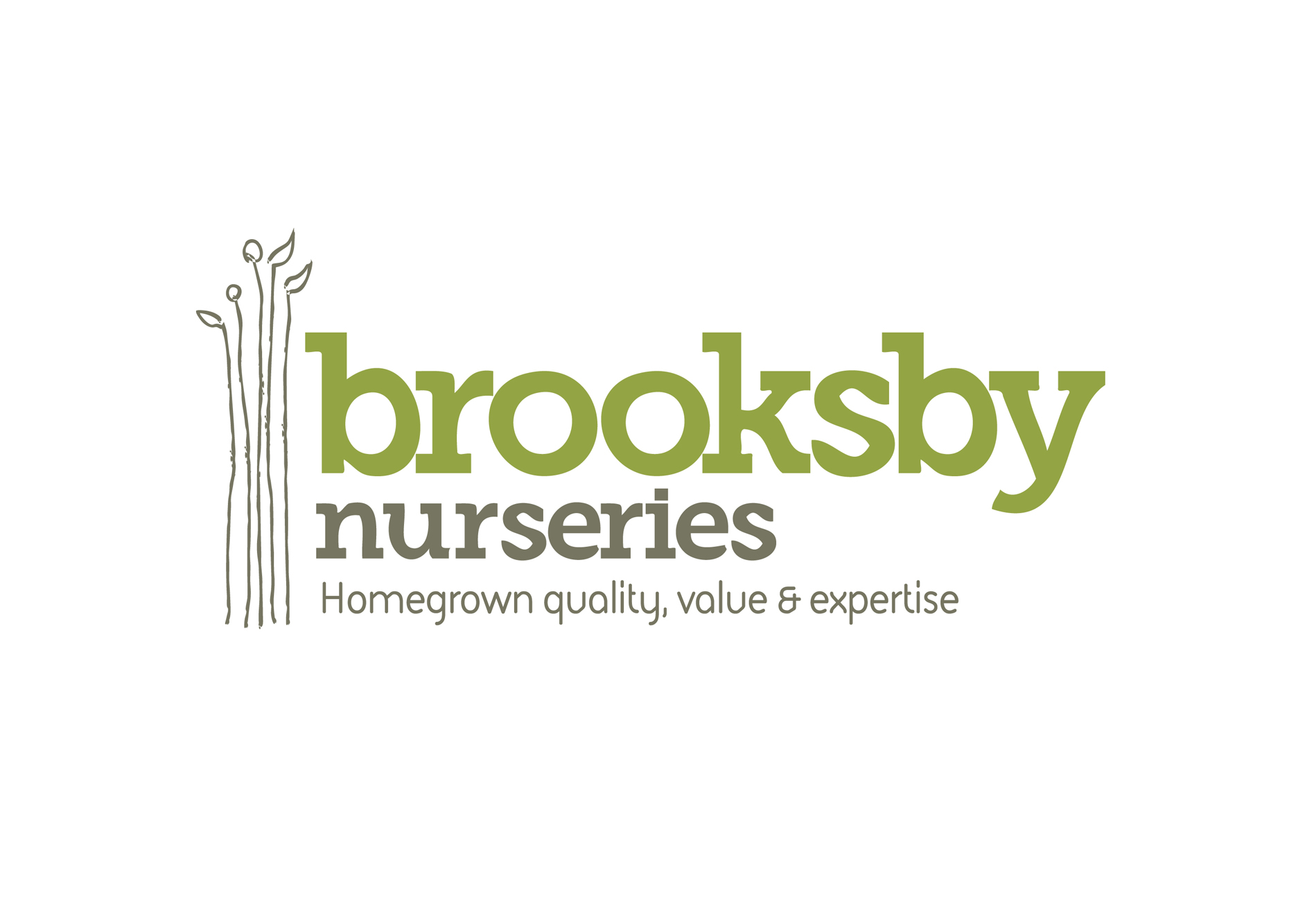 Brooksby Nurseries Branding and Logo Design
