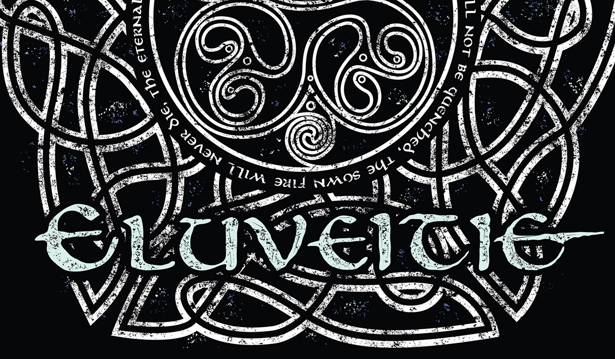 Eluveitie T-Shirt Design