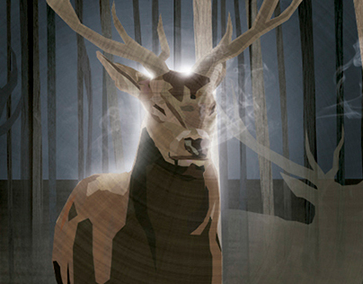 Deers illustration