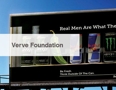 Verve Foundation Real Men Campaign