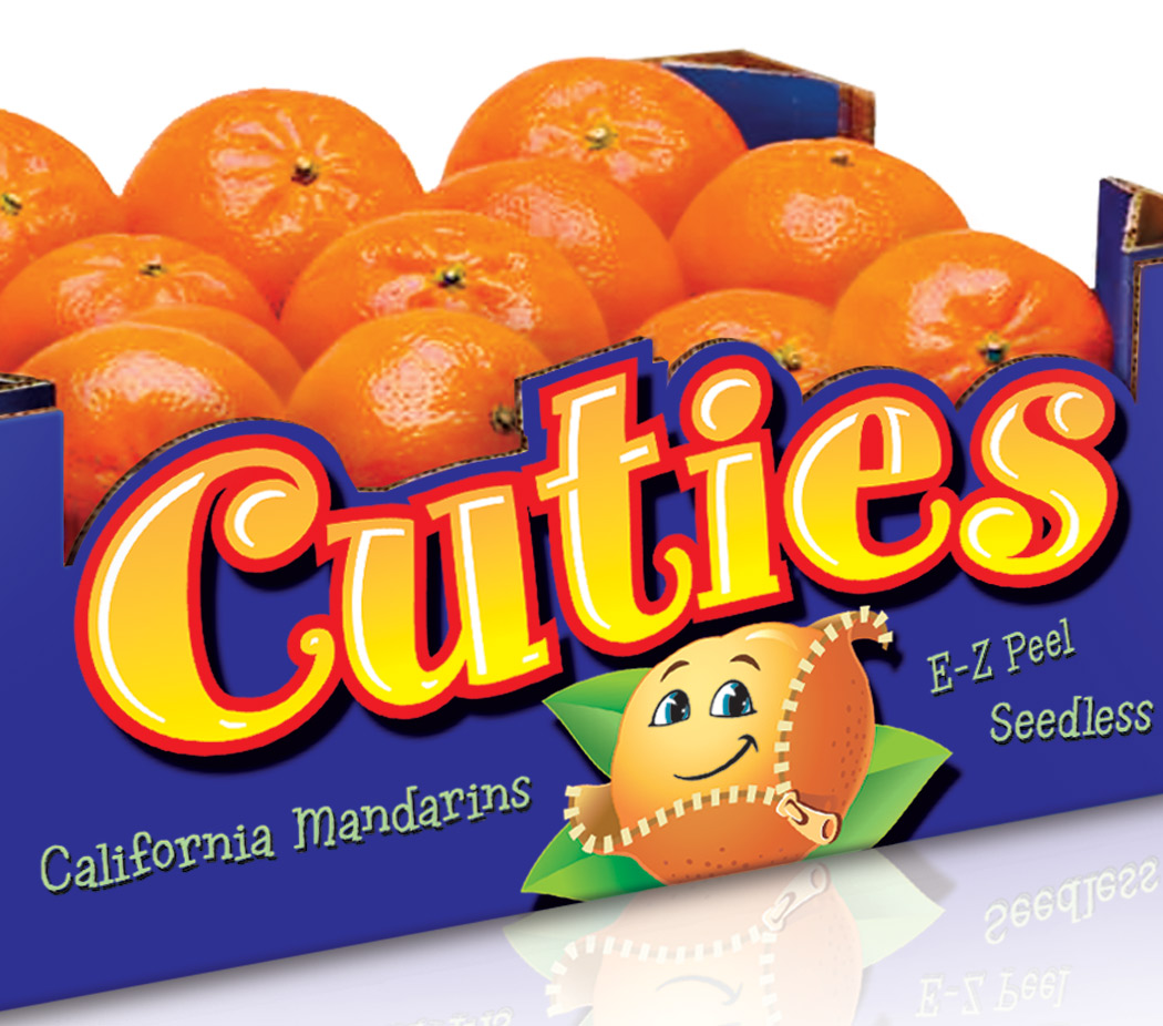 Cuties ~ California Mandarins re-Branding and Packaging