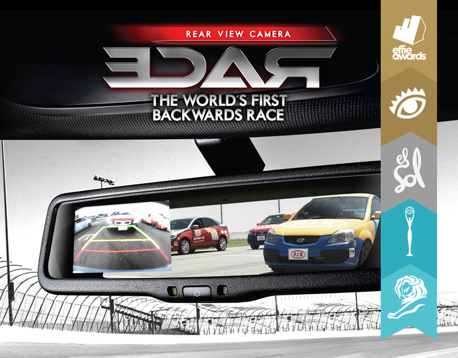 KIA REARVIEW CAMERA RACE