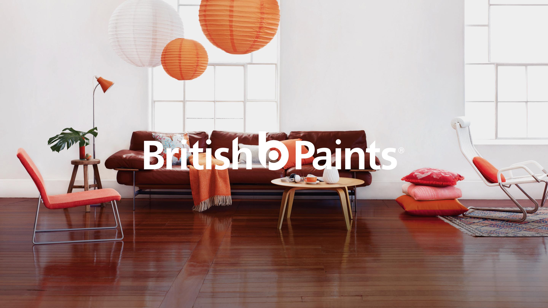 British Paints – New Branding