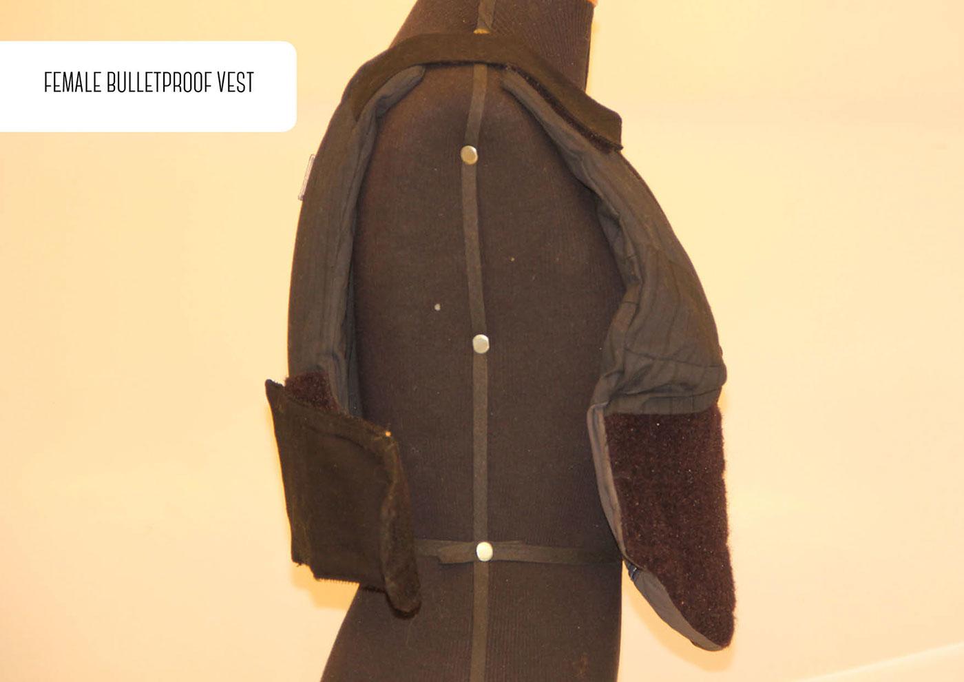 Female ballistic vest