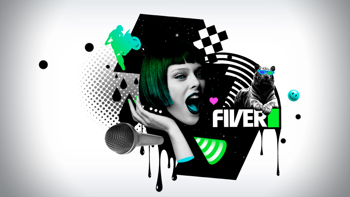 Fiver Idents pitch