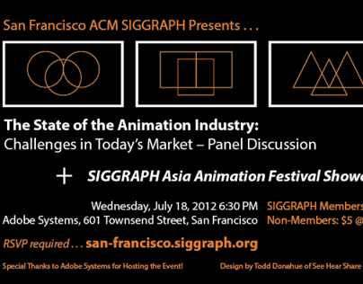 SF ACM SIGGRAPH @ Adobe Event Graphic