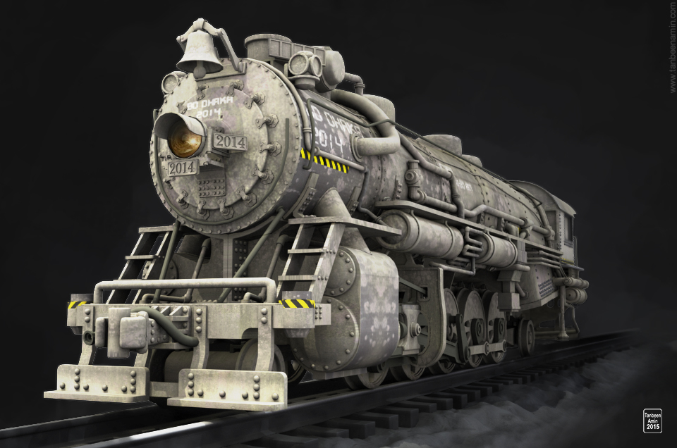 3D || Locomotive Train