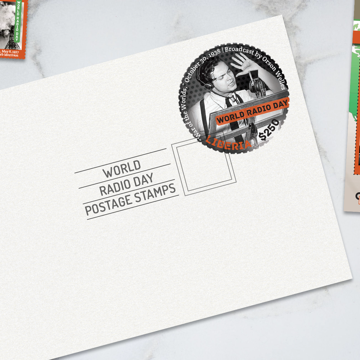 World Radio Day Postage Stamp Set