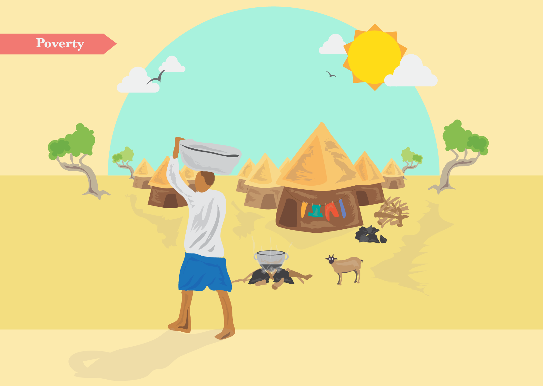 Charity Infographic: Volunteering In Ghana