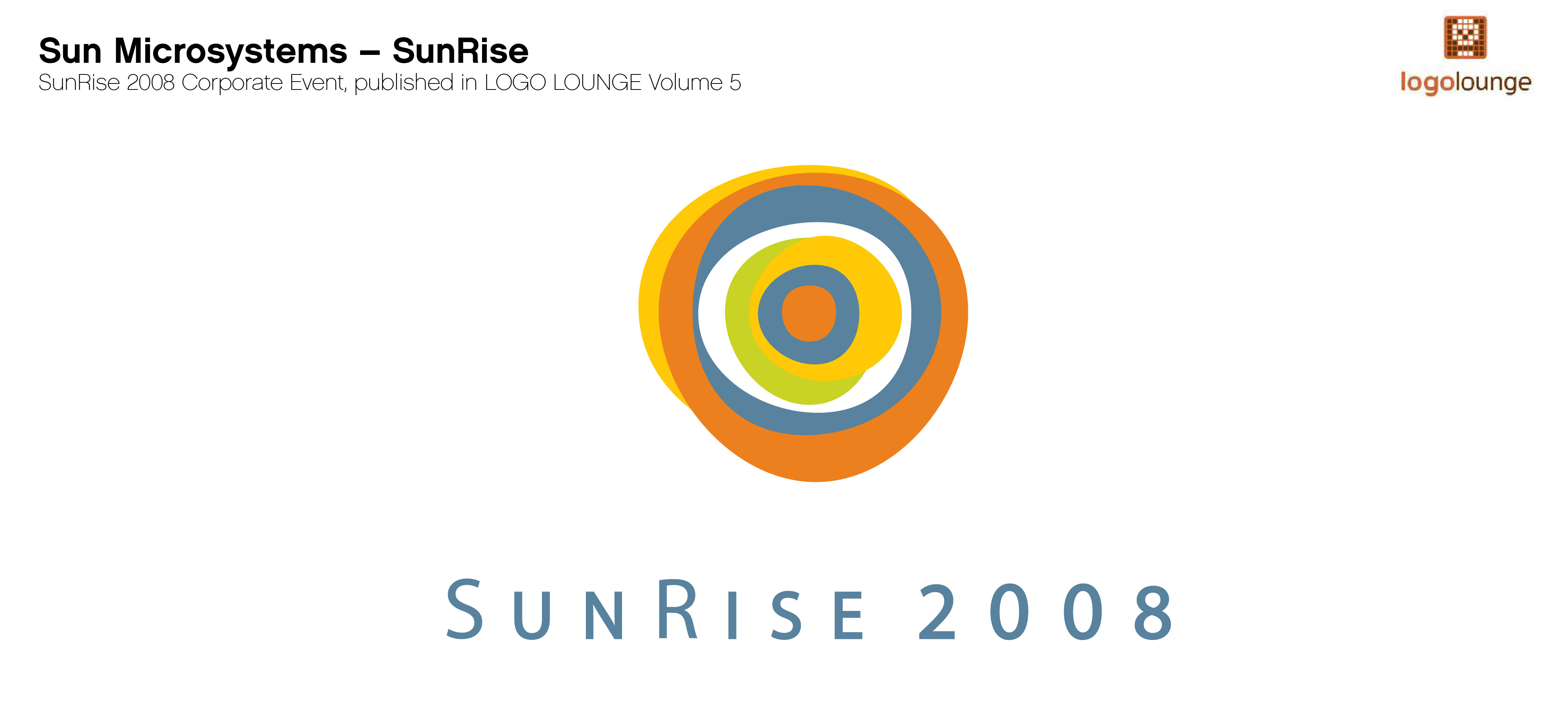 Sun Microsystems 2008 SunRise Event