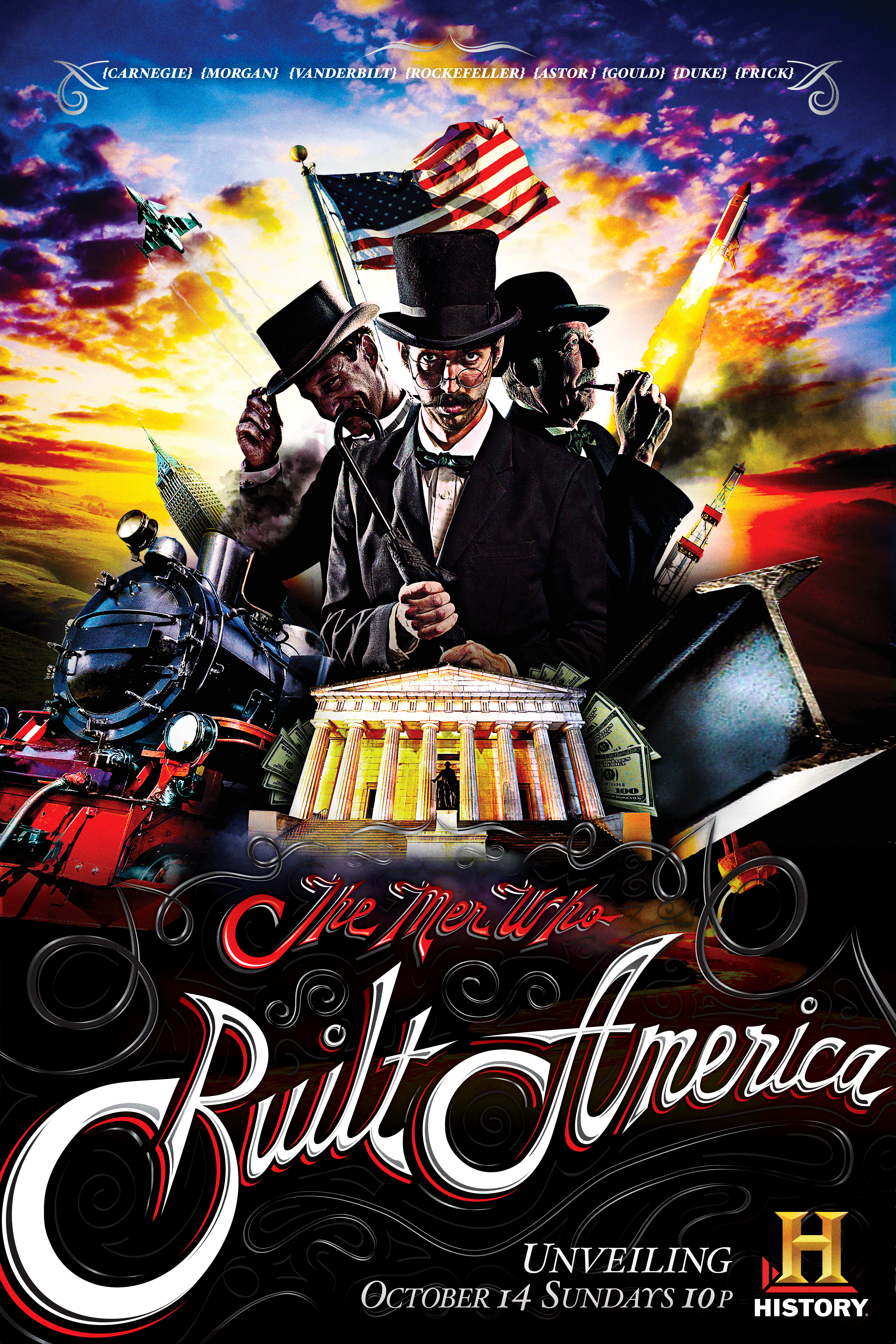 The Men Who Built America Key Art