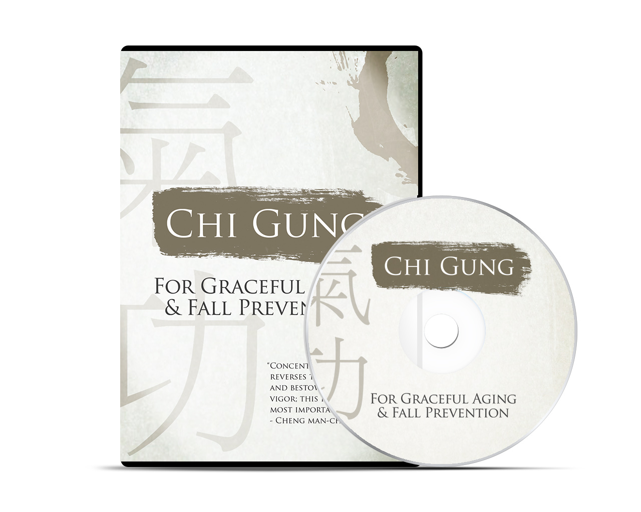 Chi Gung DVD Packaging