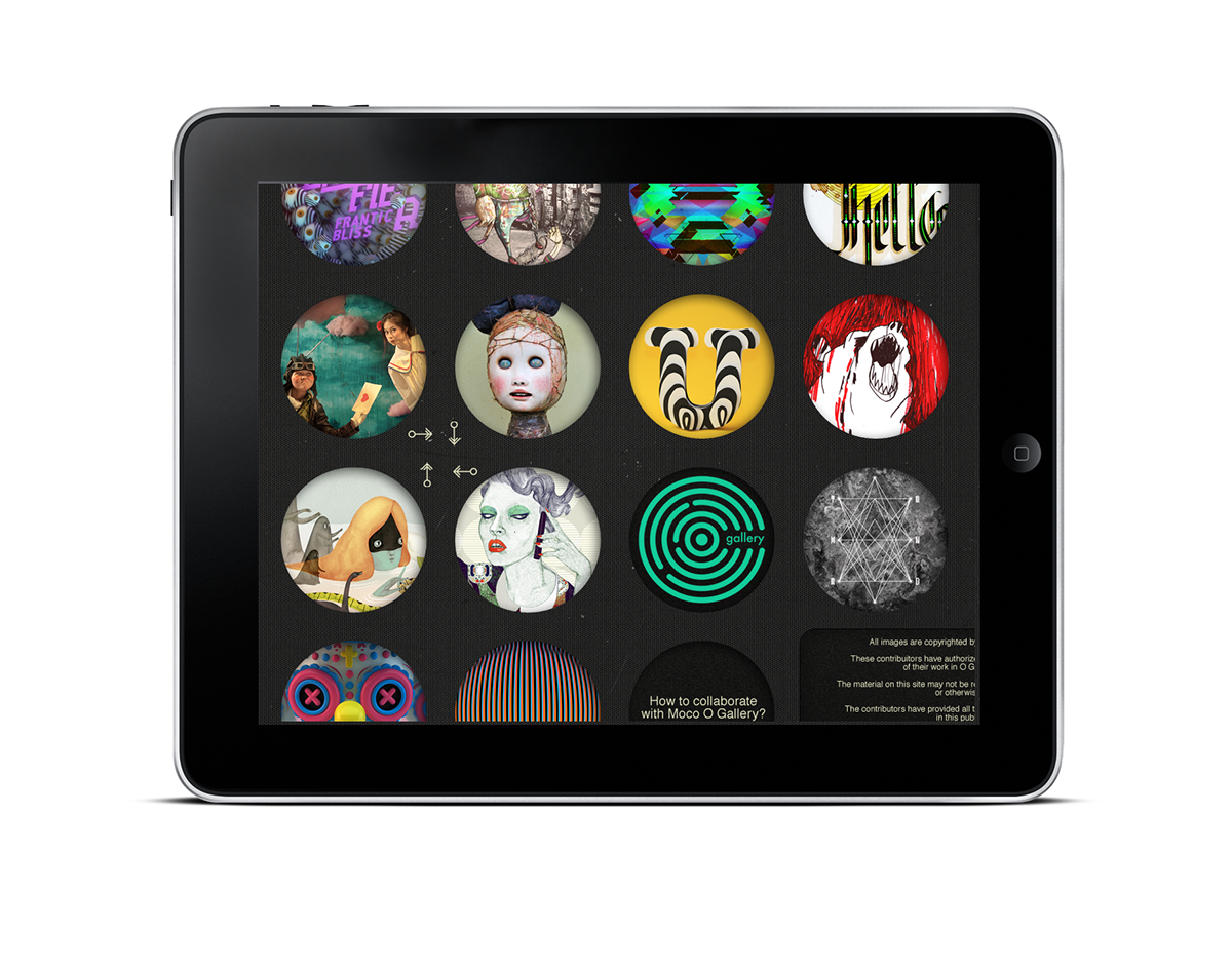 O Gallery Vol. 1 for iPad