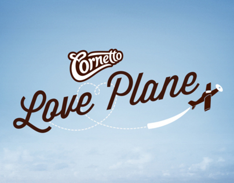 Cornetto Love Plane / Cornetto / Digital Event