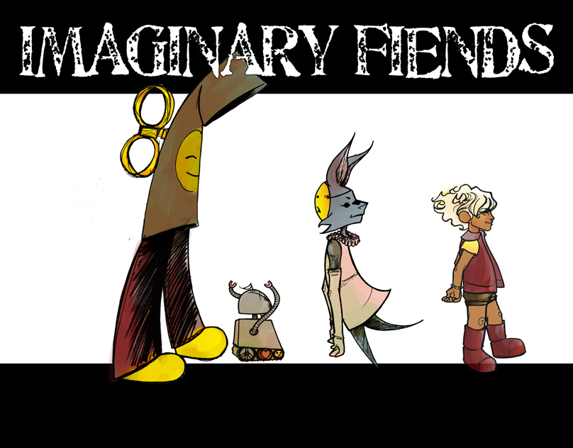 Imaginary Fiends [a children's book]
