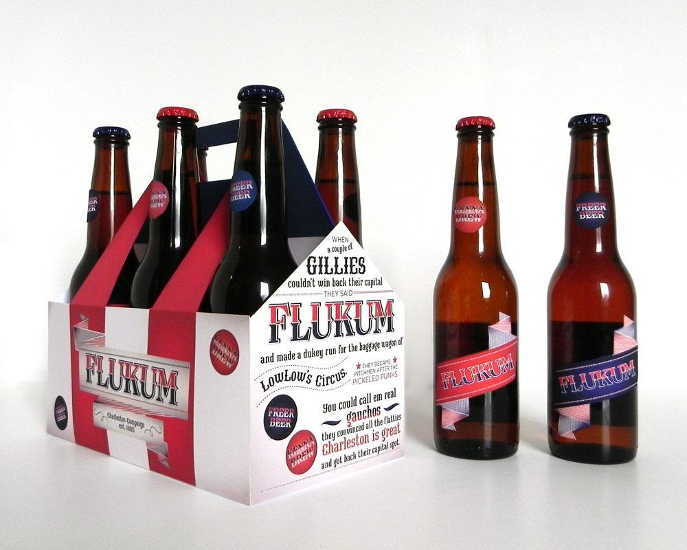 Flukum Beer Packaging