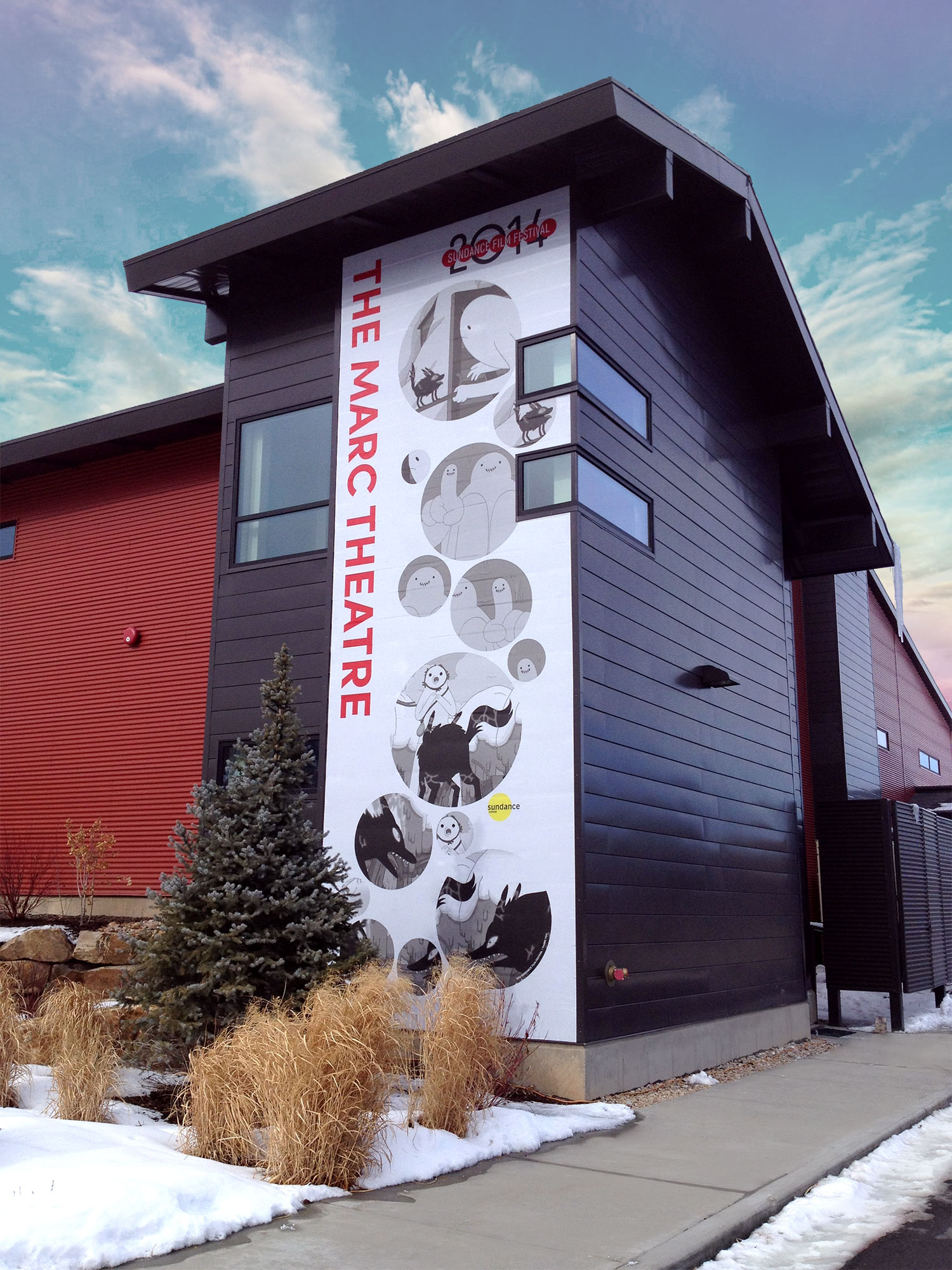Environmental Graphics Sundance Film Festival 2014