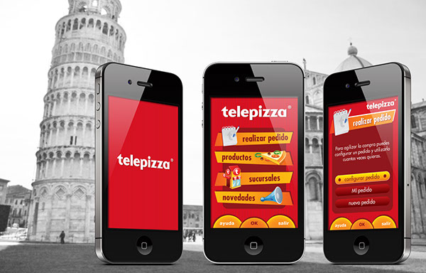 Telepizza iphone app 2008