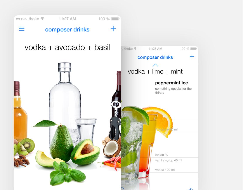 composer drinks app