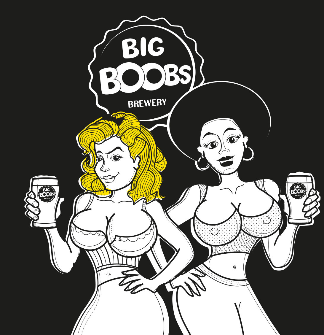 BIG BOOBS Brewery