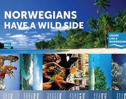 Norwegian Cruise • Flyer / Email campaign