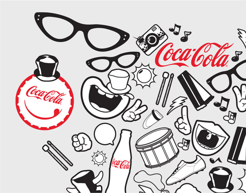 Coca Cola IL sketches