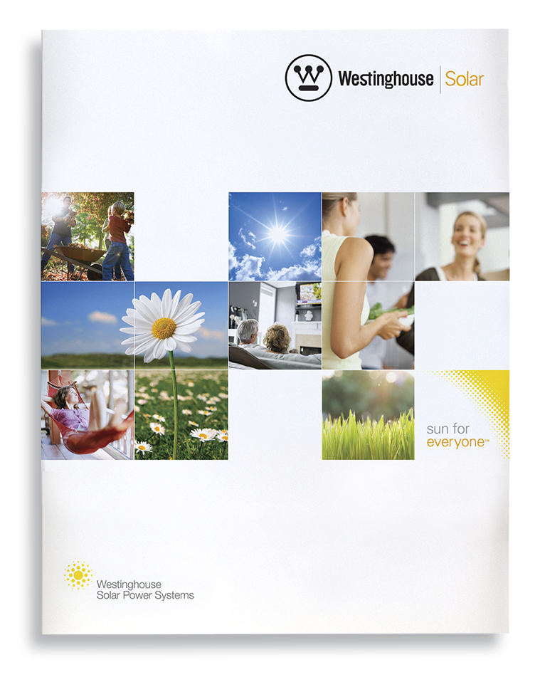 Westinghouse Solar brand identity and campaign